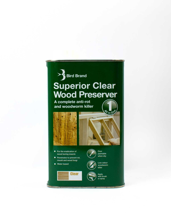 Picture of Bird Brand Superior Clear Wood Preserver