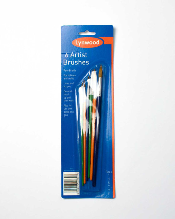 Picture of 6 Artist Brushes