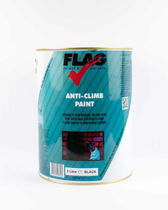 Picture of Flag Anti-Climb Paint - Black