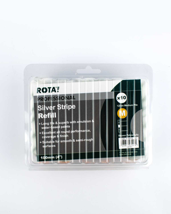"""Picture of ROTA! 4"""" Emulsion Sleeves (10 pack)"""