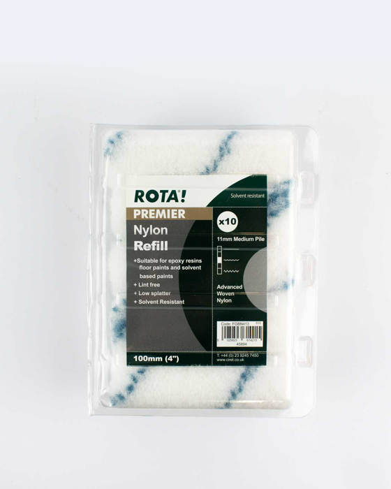 """Picture of ROTA! 4"""" Nylon Refill Solvent Resistant Sleeves (10 pack)"""