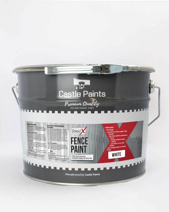 Picture of ShieldX Water-Based Fence Paint
